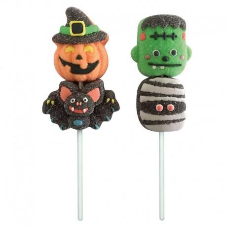 """Sucette guimauve """"Halloween"""" - 2 modèles au choix"""