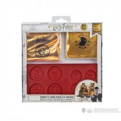 """Moule à chocolat """"Pièces de Banque Gringotts"""" - Harry Potter"""