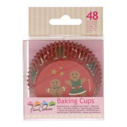 48 caissettes à Cupcakes - Pain d'épice