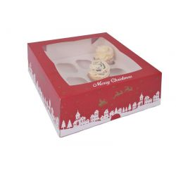 2 boîtes à 12 cupcakes Noël