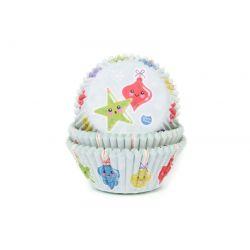30 caissettes à cupcakes décorations de Noël
