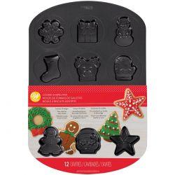 Moule à biscuits Fêtes de Noël