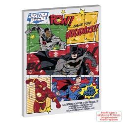"""Calendrier de l'avent au chocolat """"Justice League"""""""