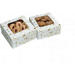 2 Boites à gâteaux étoile petit modèle