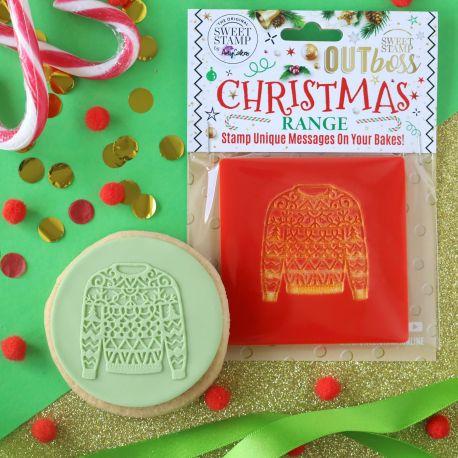 Outboss™ Sweet Stamp - Pull de Noël