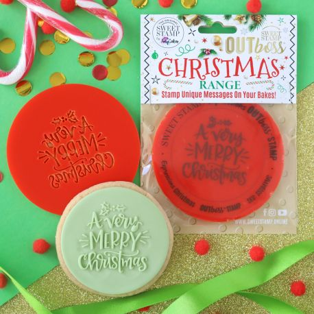 Outboss™ Sweet Stamp - Very Merry Christmas