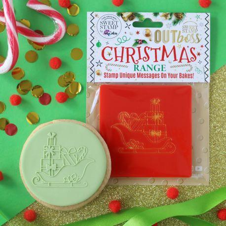 Outboss™ Sweet Stamp - Le traineau du Père Noël