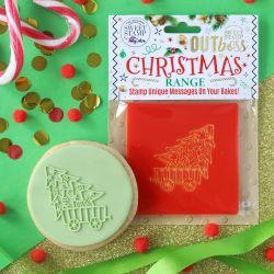 Outboss™ Sweet Stamp - Sapin de Noël et wagon