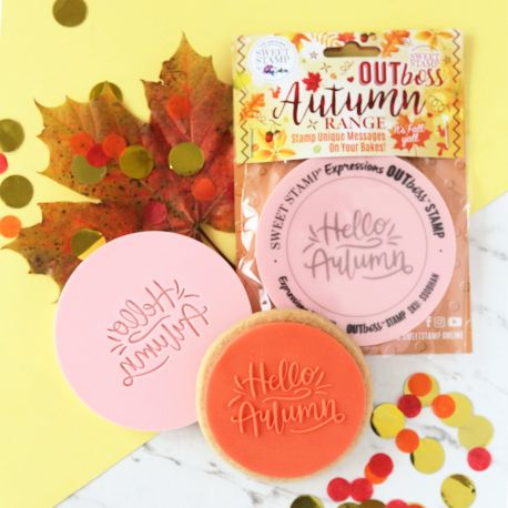 Outboss™ Sweet Stamp - Hello autumn