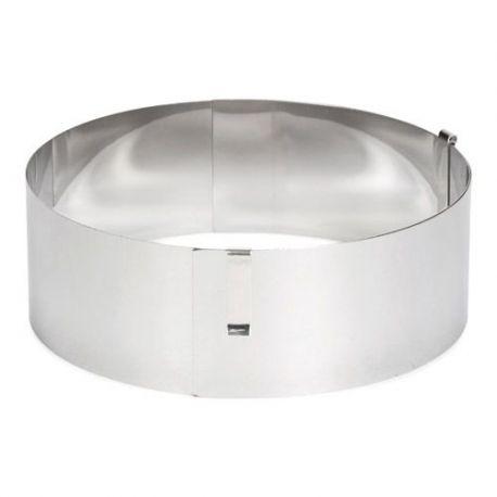 Cercle à pâtisserie réglable - 13 à 31 cm
