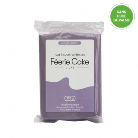 Pâte à sucre 250g - Lilas