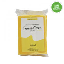 Pâte à sucre 250g - Jaune
