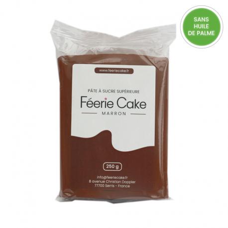 Pâte à sucre 250g - Marron