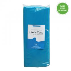 Pâte à sucre 1 kg - Bleu azur