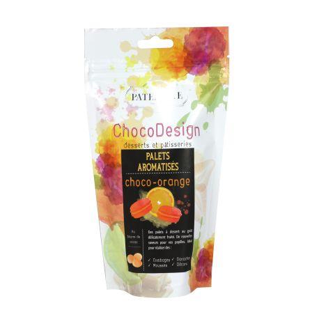 Palets aromatisés orange - 200 g