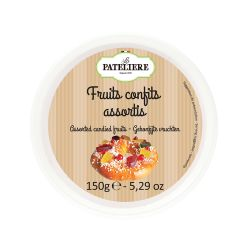 Fruits confits assortis - 150 g