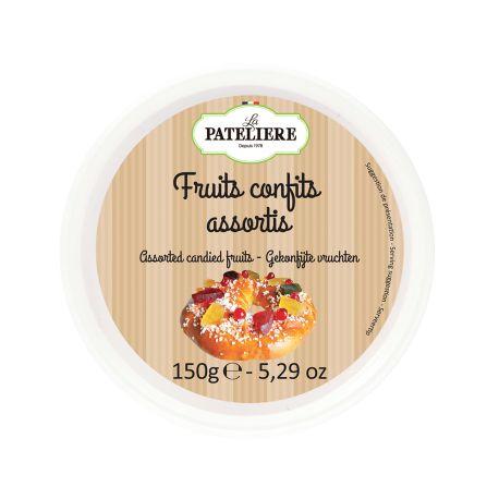 Fruits confits assortis - 150 g