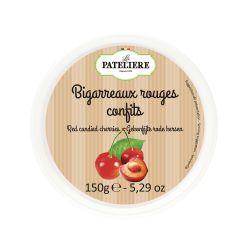 Bigarreaux rouges confits - 150 g