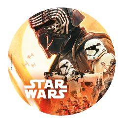 """Disque azyme """"Star Wars : la bataille"""" - 20 cm"""
