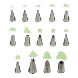 Douilles feuilles - Différents modèles