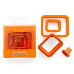 Set de 4 emporte-pièces rectangles