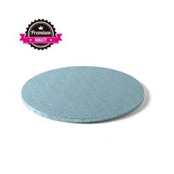 Cake drum rond bleu ciel épaisseur 1.2 cm - Différentes tailles