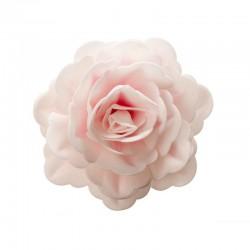 "Fleur ""rose blanche"" en azyme"