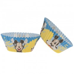25 caissettes à cupcakes standard Mickey