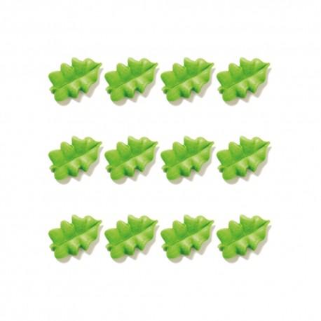 6 feuilles en sucre