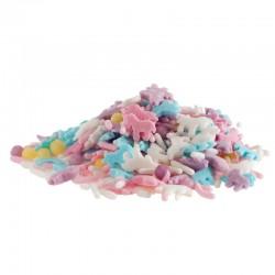"""Mélange de sprinkles """"Licorne"""" - 70 g"""