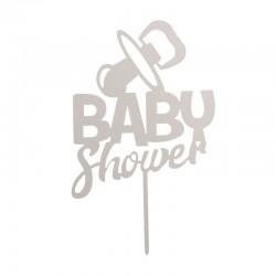 "Topper pour gâteau ""baby shower"" -"