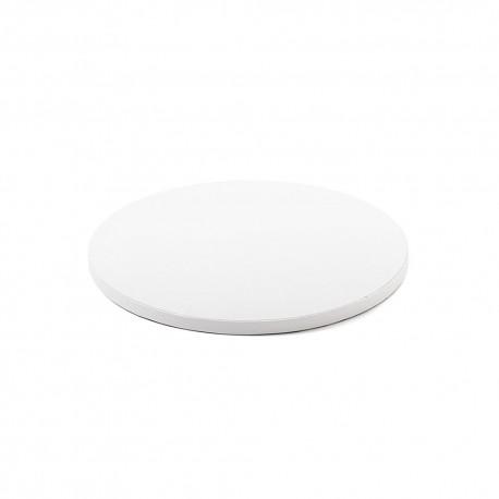 Support à gâteau blanc - 25 cm