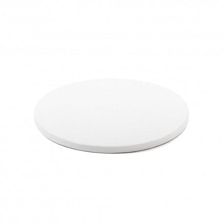 Support à gâteau blanc - 30 cm