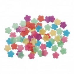 Confettis de grandes fleurs en azyme