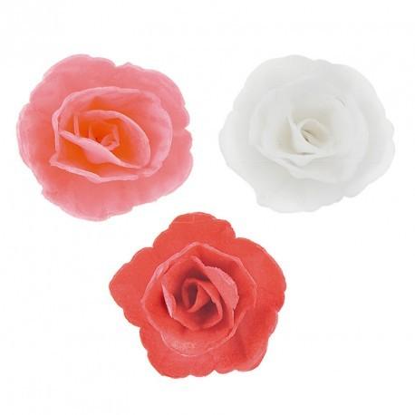 Assortiment 36 roses en azyme