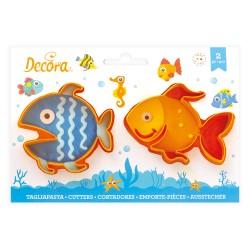 "2 emporte-pièces ""poisson"""