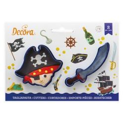 """1 emporte-pièces """"Pirate"""""""