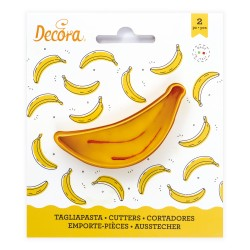 """1 emporte-pièce """"banane"""""""