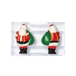 """Moule à chocolat """"Père Noël"""" 3D"""