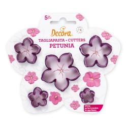 """5 emporte-pièces à biscuits """"Petunia"""""""