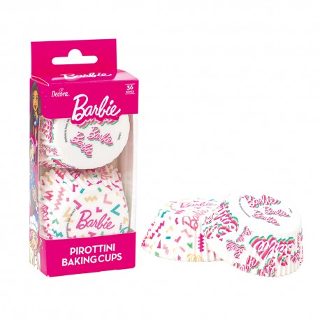 """36 caissettes à cupcakes standard """"Barbie"""""""