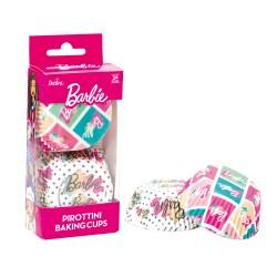 """36 caissettes à cupcakes standard colorées """"Barbie"""""""