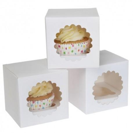 3 boîtes pour 1 cupcake (avec inserts)