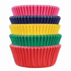 """100 mini caissettes à cupcakes """"carnaval"""""""