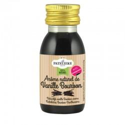 Arôme naturel de vanille Bourbon avec grains de vanille - 60 ml