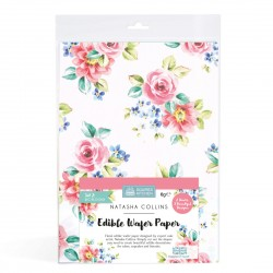 "Lot de 2 feuilles azyme ""Printemps"""