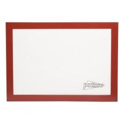 Tapis de cuisson en silicone - Rouge et blanc