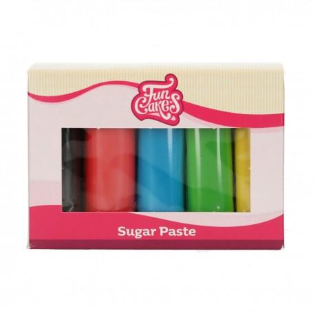 """Pack de 5 pâtes à sucre - """"Les essentielles"""""""