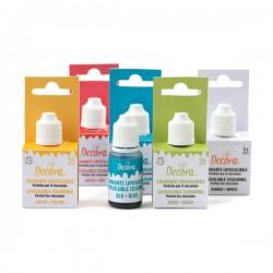 Colorant liposoluble 15 g - Différentes couleurs