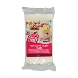 Pâte à sucre blanche aromatisée au citron - 250 g